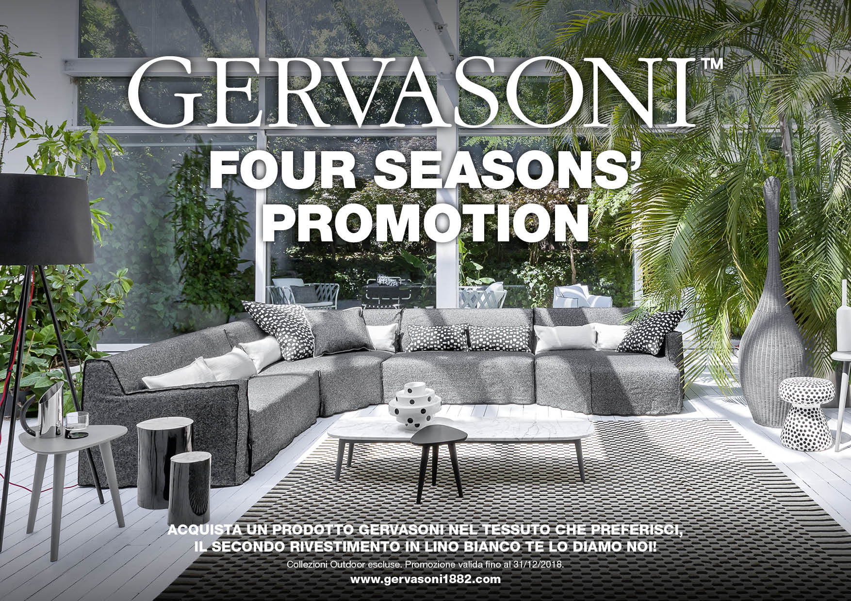 GERVASONI FOUR SEASON'S PROMOTION